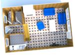 3D animace přízemí