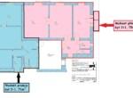 Půdorys 71 m²